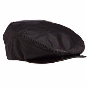 967adb1f45680 Accessories - Bailey Hats Men s Stockton Leather Cap- NEW